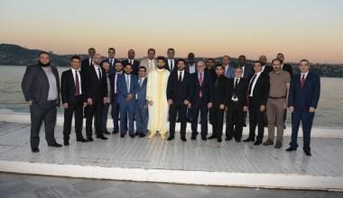 Türk ve Arap iş insanları iftarda buluştu