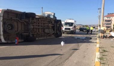 Balıkesir'de can pazarı: 1 ölü, 12 yaralı