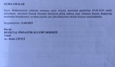 Beşiktaş'ta davacılar, denetim kurulunu istifaya davet etti
