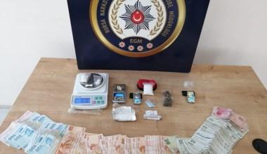 Bursa merkezli 3 ilde narkotik operasyonu: 13 gözaltı