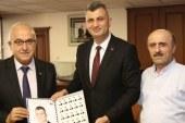 Başkan Sezer'e PTT'den Özel Pul Sürprizi