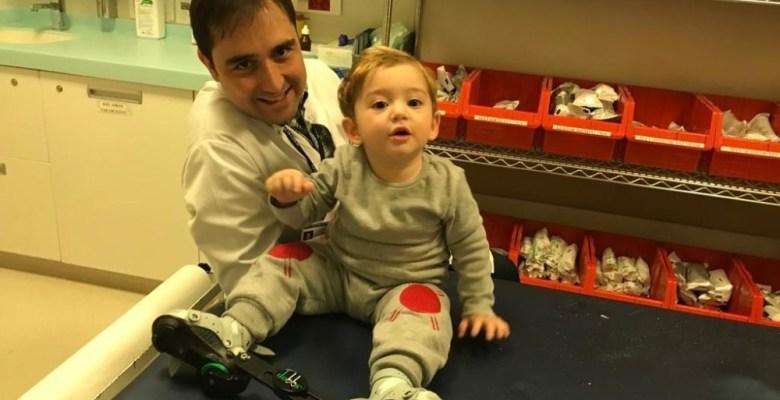 Yeni doğan bebeklerde 'çarpık ayak' sorununa dikkat