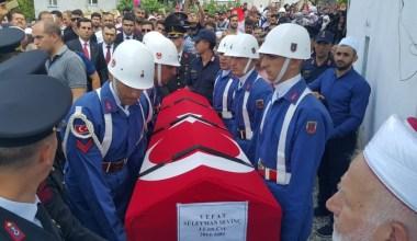 Ankara'da intihar eden Bursalı uzman çavuş toprağa verildi