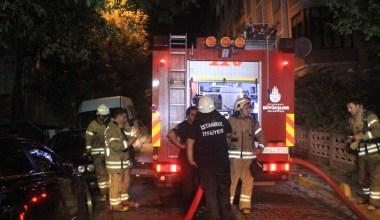 Avcılar'da öğrenci evindeki yangın paniğe neden oldu