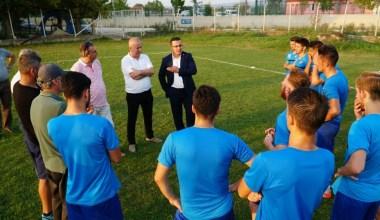 Başkan Kanar'dan Mustafakemalpaşa Belediyespora ziyaret