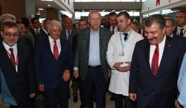 Cumhurbaşkanı Erdoğan Bursa Şehir Hastanesi'nin açılışını yaptı
