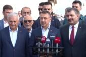 Cumhurbaşkanı Yardımcısı Oktay, bayram namazını Büyük Çamlıca Camii'nde kıldı