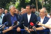 İBB Başkanı Ekrem İmamoğlu, Sarıyer'de incelemelerde bulundu