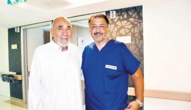 Kanser tanısı konan Cezayirli hasta şifayı Türkiye'de buldu