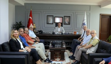 SASTOP'tan, Başkan Işıksu'ya ziyaret