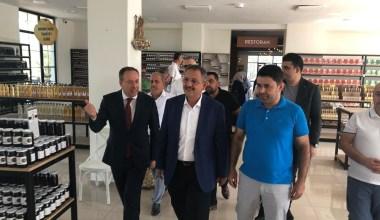 AK Parti Genel Başkan Yardımcısı Özhaseki Geyve'de