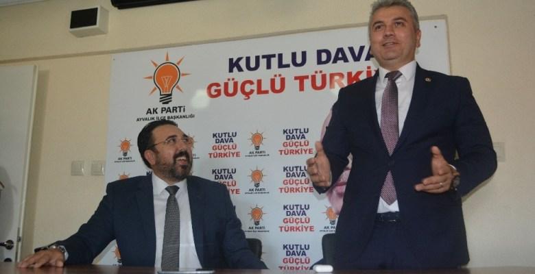 """AK Partili Canbey: """"Bu ülkede Recep Tayyip Erdoğanlar bitmez"""""""