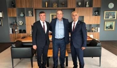 Başkan Aydın'dan Şişecam'a ziyaret