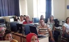 Burhaniye'de bilgisayar kurslarına yoğun ilgi