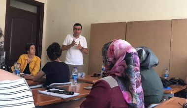 Burhaniye'de oryantasyon kursu