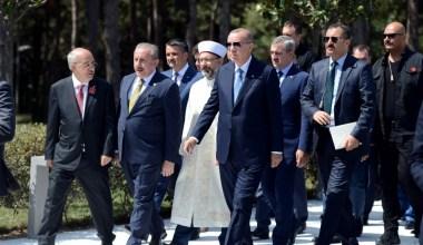 Cumhurbaşkanı Erdoğan, Abdülhakim Sancak Camii'nin açılışına katıldı