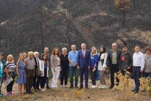 """""""Ege Üniversitesi Orman Okulu""""faaliyetlerine hızlı başladı"""