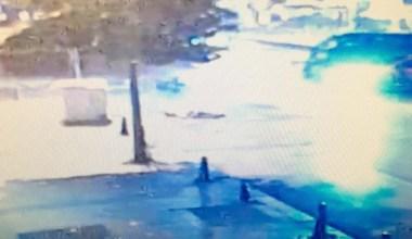 Fatih'te motosikletli gencin hayatını kaybettiği kaza kamerada