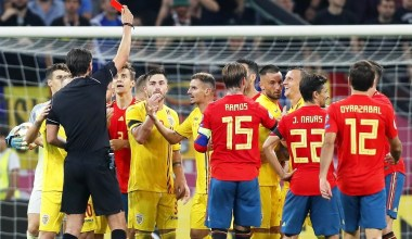 Fenerbahçe scoutları, Romanya-İspanya maçını takip etti