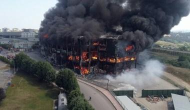 Kocaeli'de 4 kişiye mezar olan fabrikadaki yangına ihmaller neden olmuş