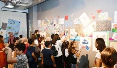 Küçükçekmece'de 300 öğrenciden 250 geleneksel sanat eseri