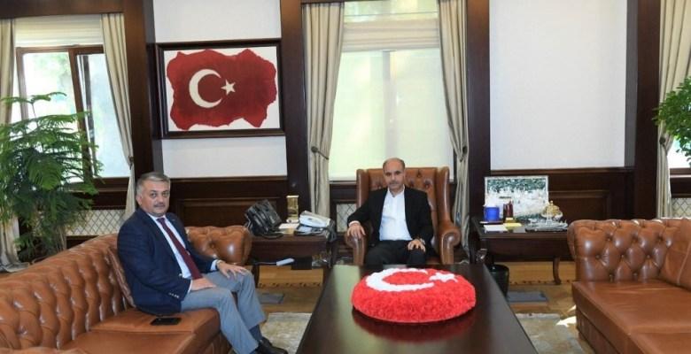 Vali Ersin Yazıcı Emniyet Genel Müdürü Aktaş'ı ziyaret etti