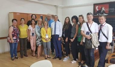 Abidin Pak Pakmaya Anadolu Lisesi 4 ülkeden öğrencileri ağırladı