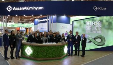 Assan Alüminyum, sürdürülebilirliğe odaklanan iş süreçlerini ALUEXPO Fuarı'nda tanıttı