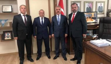 Balıkesir MHP İl Yönetimi Ankara'da