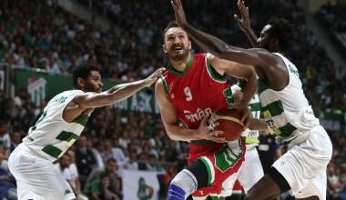 Basketbol Süper Ligi: Bursaspor: 77 – Pınar Karşıyaka: 85