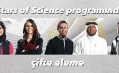 Stars of Science programında çifte eleme