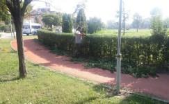 İzmit'in parkları yenilenmeye devam ediyor