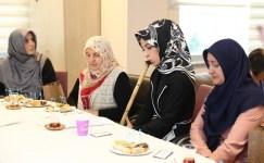 Kübra Kartoğlu'ndan anlamlı ziyaret