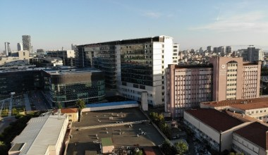 (Özel) Kartal Dr. Lütfi Kırdar Eğitim ve Araştırma Hastanesinin taşınacağı yeni bina havadan görüntülendi