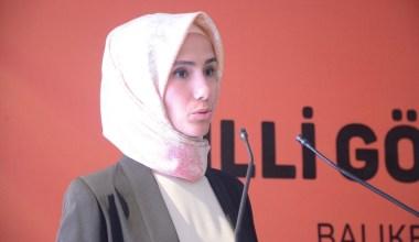 Sümeyye Erdoğan Bayraktar'dan 'Barış Pınarı' mesajı