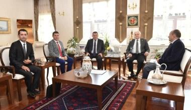 Başkan Deveciler, Yargıtay Başkanını ziyaret etti