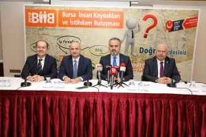 Bursa'da 'istihdam' buluşması