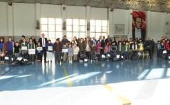 Burhaniye'de öğrenciler spor ve zeka oyunları ile teknoloji bağımlığından uzaklaşacak