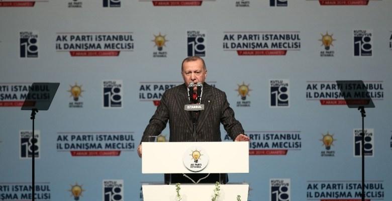 """Cumhurbaşkanı Erdoğan: """"İnsan gönlünü kıranların biz de partideki görevleriyle ilgili kalemini kırarız"""""""