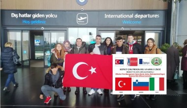 Kepsut ÇPAL öğrencileri Hırvatistan ve  Slovenya'da