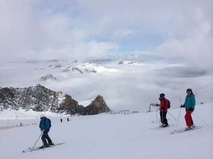 First ski outing of the season: Hintertux