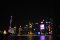Shanghai, Pudong at night