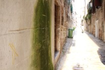 In a narrow alleyway off the port