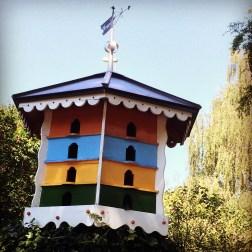 A colourful dovecote