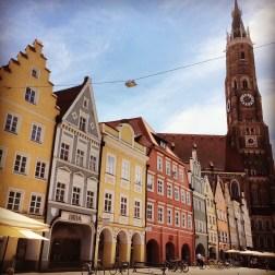 The main square in Landshut
