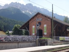 The train station at San Candido