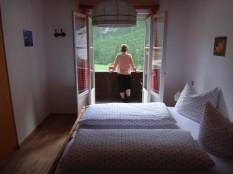A private room at rifugio Tre Scarperi