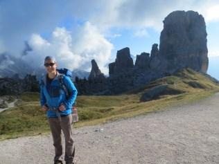 Cinque Torri in the Italian Dolomites