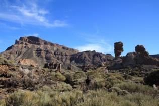 The Roques de Garcia in the Teide National Park