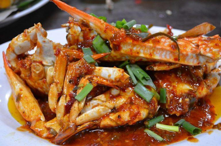 krab jedzenie